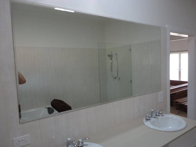 Shower Screens Newcastle, Maitland & Hunter From $541 With Bevelled Edge Bathroom Mirrors (#17 of 20)