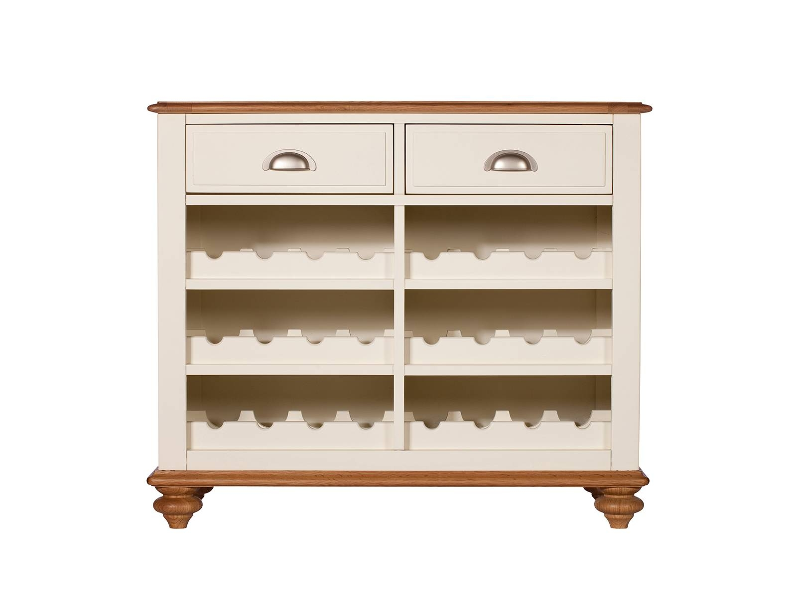 Shropshire Dining Narrow Sideboard With Wine Rack | Sideboards Intended For Sideboards With Wine Racks (#11 of 20)