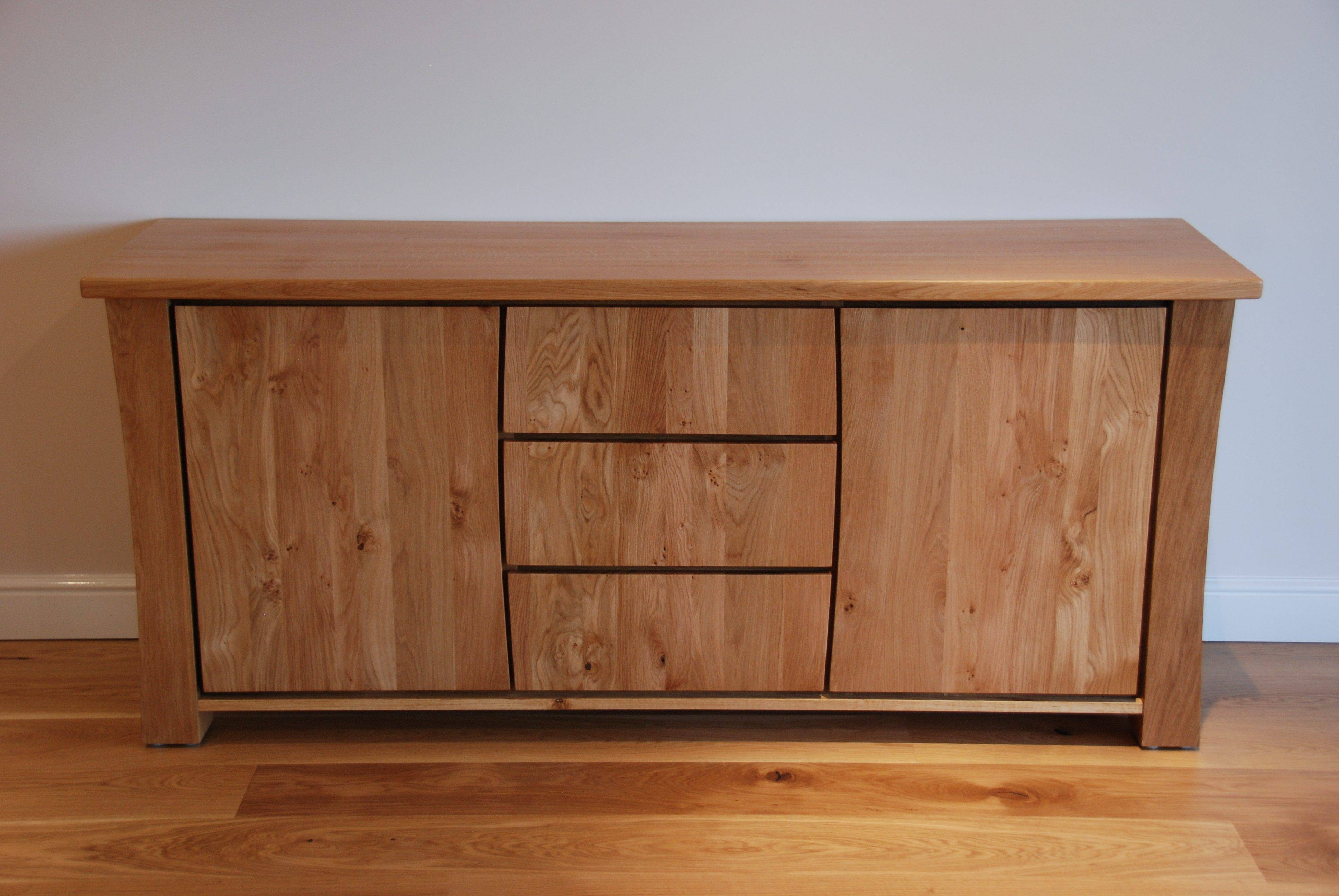 Sideboard And Tv Unit Commission | Bespokegreenoak Pertaining To Sideboard Units (View 4 of 20)