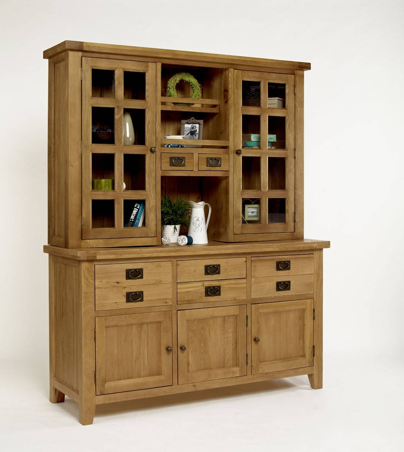 Sideboard With Hutch, A Multiple Media Storage | Homesfeed In Sideboard With Hutch (#11 of 20)