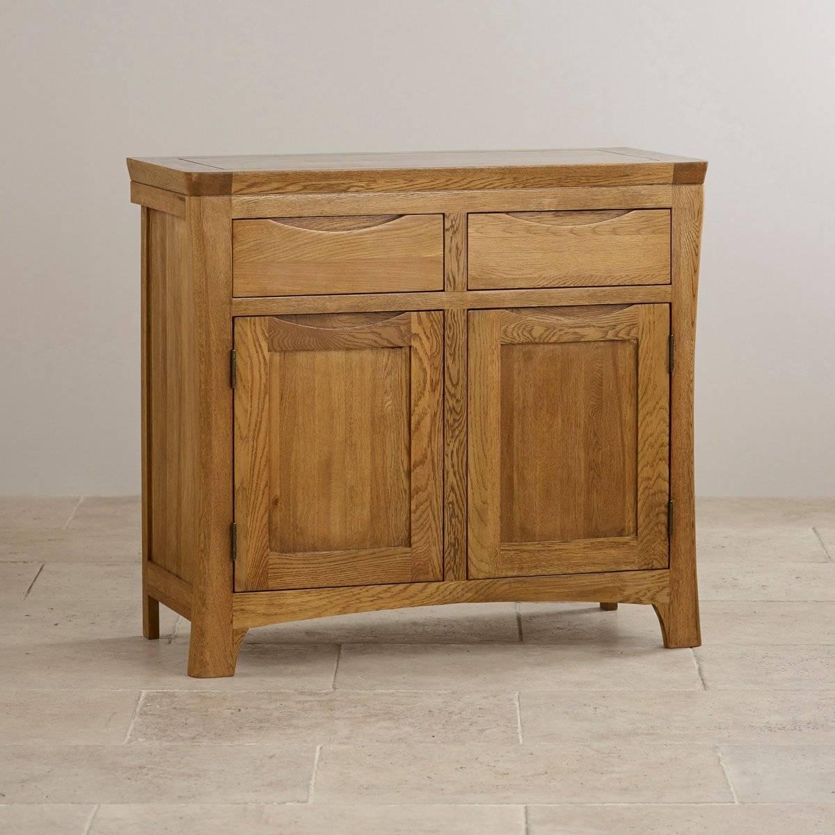 Sideboards | 100% Solid Hardwood | Oak Furniture Land Pertaining To Narrow Oak Sideboard (#13 of 20)