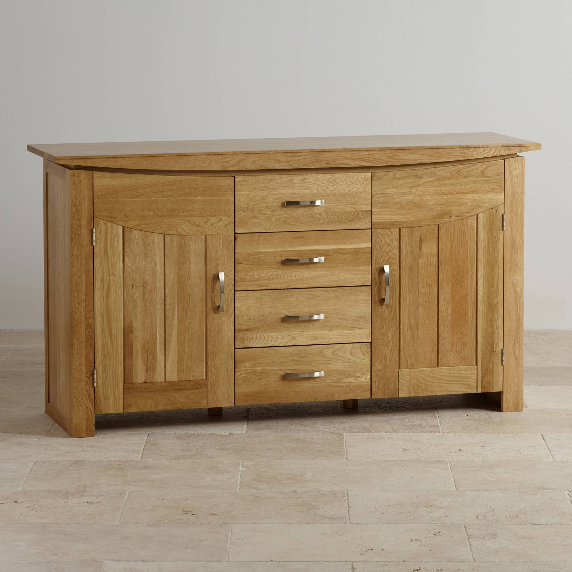 Sideboards | 100% Solid Hardwood | Oak Furniture Land With Regard To Ready Assembled Sideboards (#19 of 20)