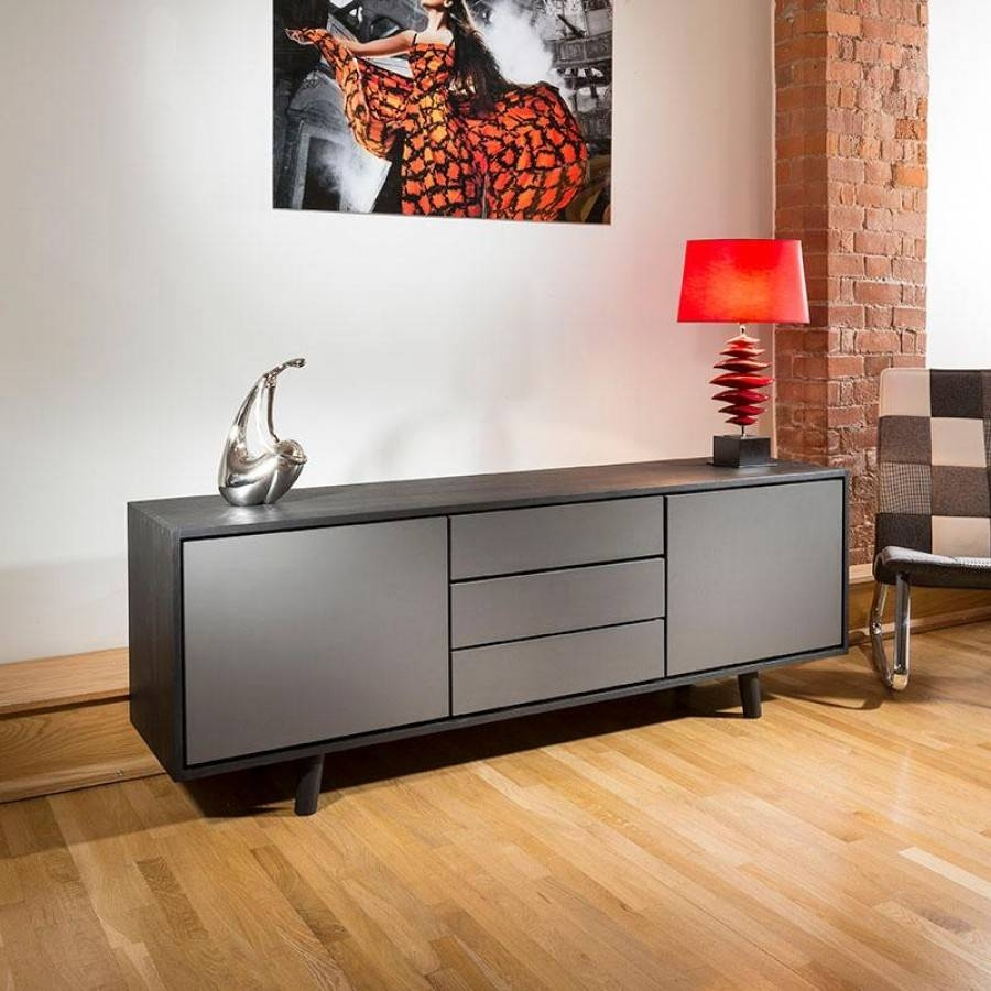 Sideboards: Amazing Black Sideboard Cabinet Ashley Furniture Regarding Low Sideboards (#18 of 20)