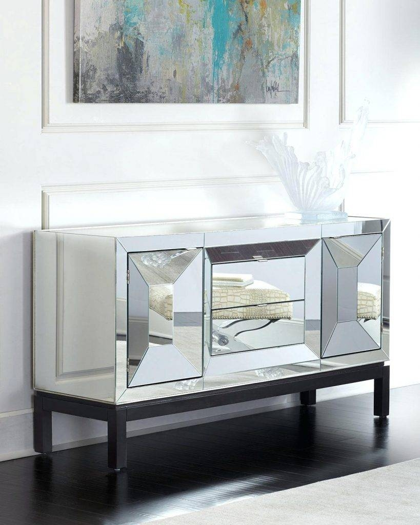 mirrored buffet tables 20 best collection of glass sideboards 4158
