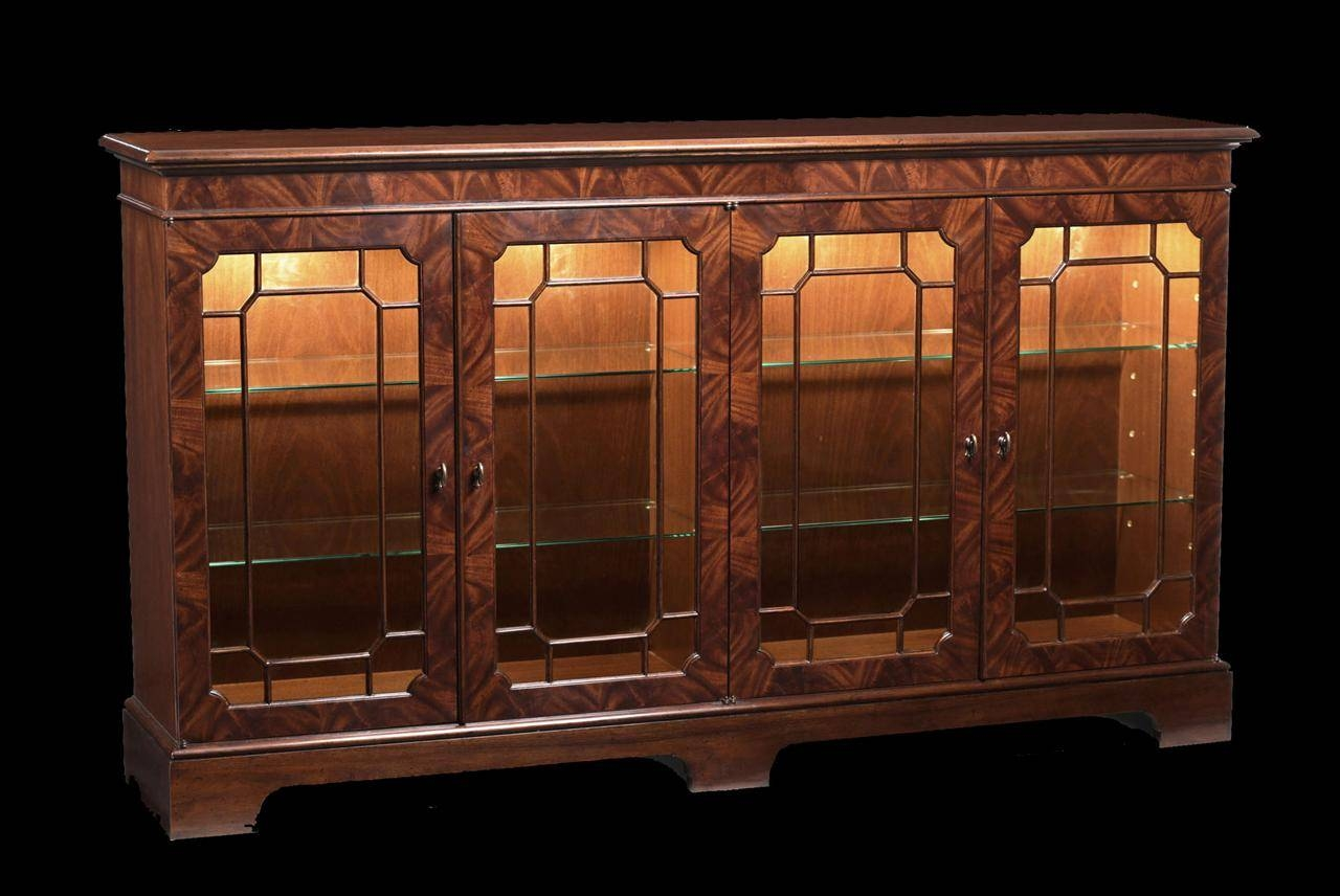 Sideboards And Buffets With Glass Doors Regarding Glass Sideboards (#10 of 20)