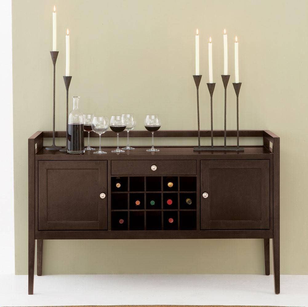 Sideboards: Astounding Buffet Tables For Dining Room Narrow With Regard To Glass Sideboards For Dining Room (View 15 of 20)