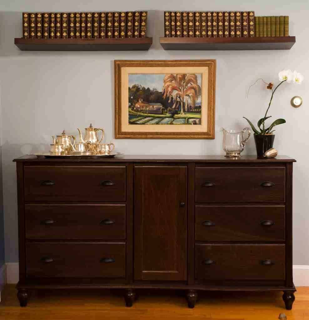 Sideboards: Extraodinary Small Buffet Cabinet Buffet Hutch, Buffet With Small Sideboards Cabinets (#12 of 20)