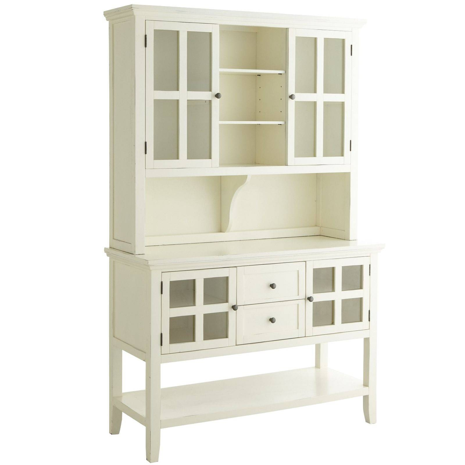 Sideboards: Glamorous Small Buffet Hutch Small Desks With Hutch Pertaining To Kitchen Sideboards White (#20 of 20)