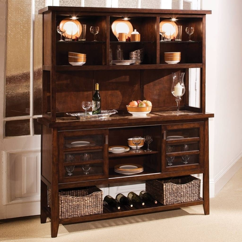 Sideboards: Marvellous Ikea Hutch And Buffet Storage Containers With Regard To Sideboard With Hutch (#17 of 20)