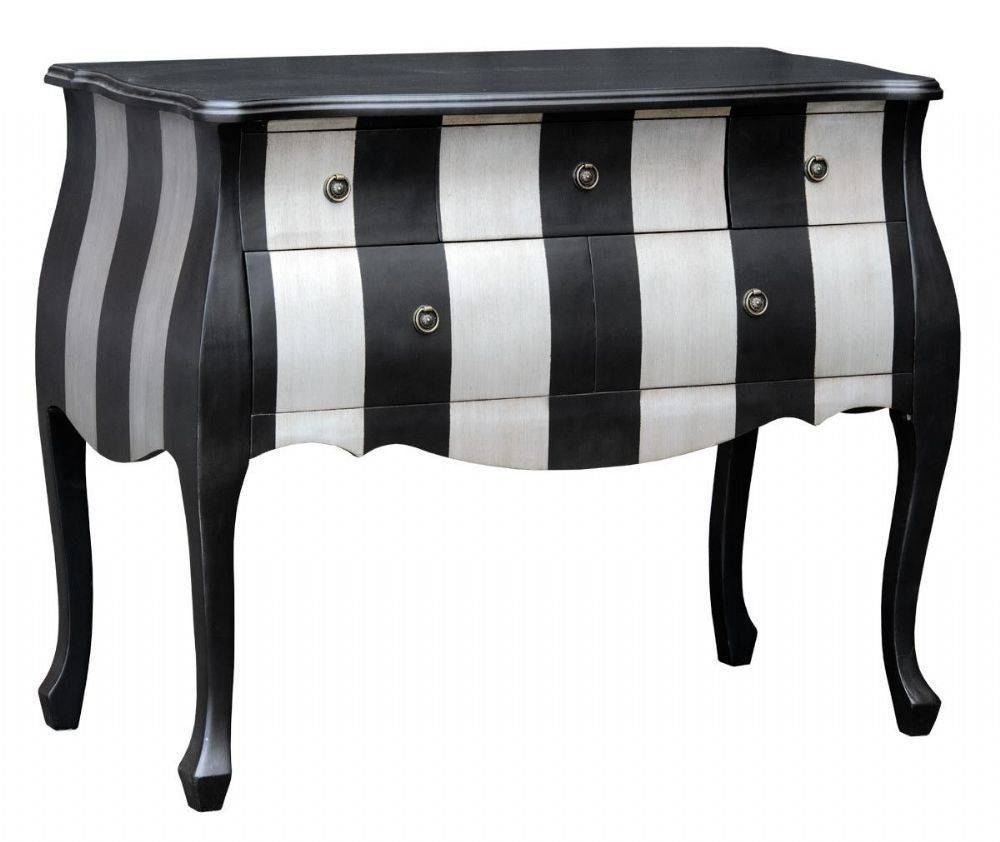 Popular Photo of Black And Silver Sideboard