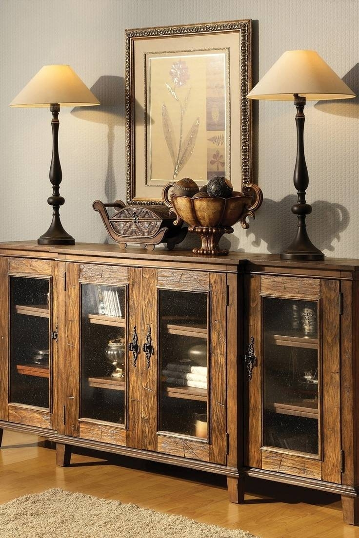 20 Photo Of Rustic Sideboards