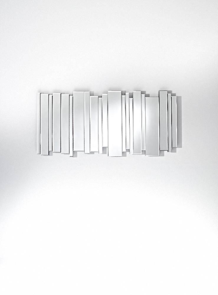 Sideside Long Frameless Bevelled Wall Mirror – £ (#16 of 20)