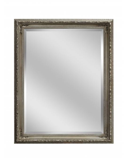 Silver Baroque Mirror | Large Mirrors For Sale – Panfili Mirrors Throughout Silver Baroque Mirrors (View 9 of 30)