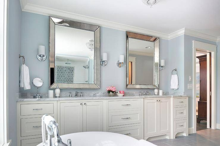 Silver Beveled Vanity Mirrors Design Ideas Inside Double Bevelled Mirrors (View 30 of 30)