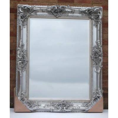 Silver Ornate Mirrors, Classic Mirrors & Stylish Mirrors – Ayers Intended For Huge Ornate Mirrors (#29 of 30)