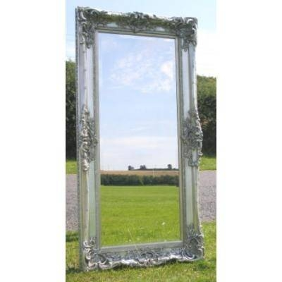 Silver Ornate Mirrors, Classic Mirrors & Stylish Mirrors – Ayers Regarding Full Length Ornate Mirrors (#23 of 30)