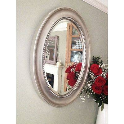 Silver Ornate Mirrors, Classic Mirrors & Stylish Mirrors – Ayers Regarding Silver Oval Wall Mirrors (View 17 of 20)