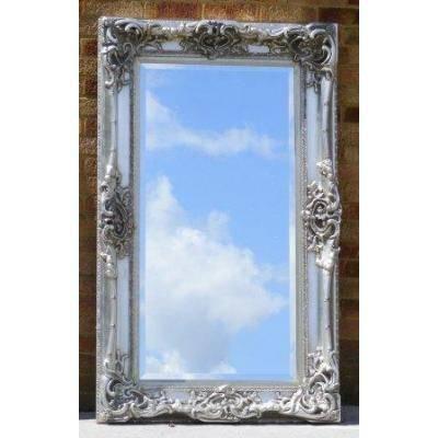 Silver Ornate Mirrors, Classic Mirrors & Stylish Mirrors – Ayers With Large Ornate Silver Mirrors (View 4 of 20)