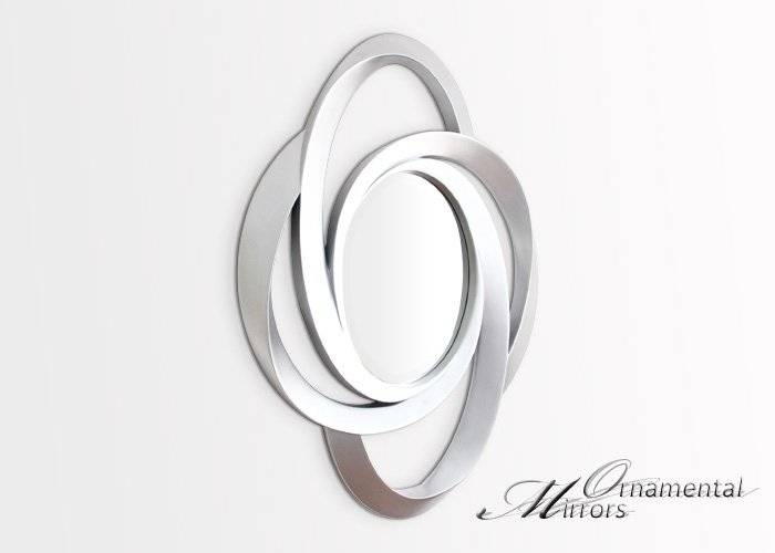 Inspiration about Silver Oval Wall Mirror In Silver Oval Wall Mirrors (#3 of 20)