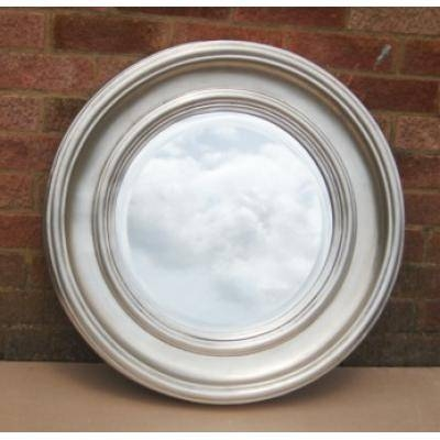 Silver Round Mirrors – Ayers & Graces Online Antique Style Mirror Shop With Silver Round Mirrors (#27 of 30)