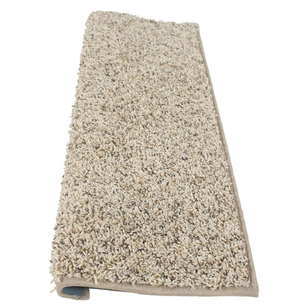 Simply Seamless Tranquility Mountain Mist 10 In X 36 In Modern Intended For Bullnose Stair Tread Carpets (#20 of 20)