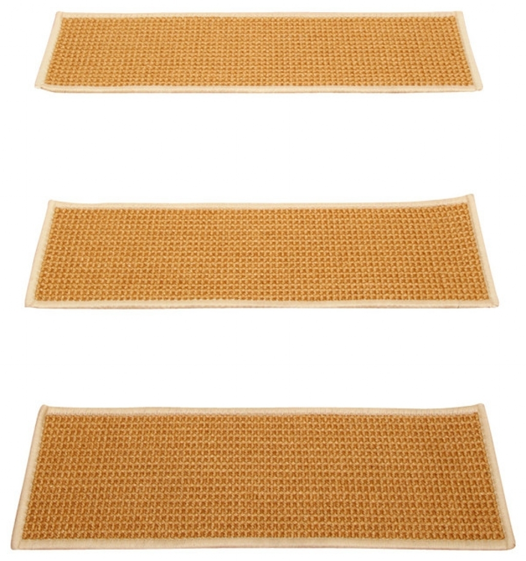 Sisal Stair Treads Vandome With Regard To Carpet Stair Treads And Rugs 9× (View 14 of 20)