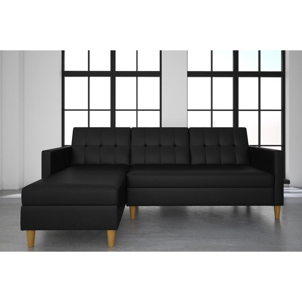 Sleeper Sectional Sofas Youll Love Wayfair Regarding Sleeper Sectional Sofas (#12 of 15)
