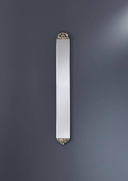 Slim Classic Frameless Wall Mirror With End Detail – £ (View 5 of 30)