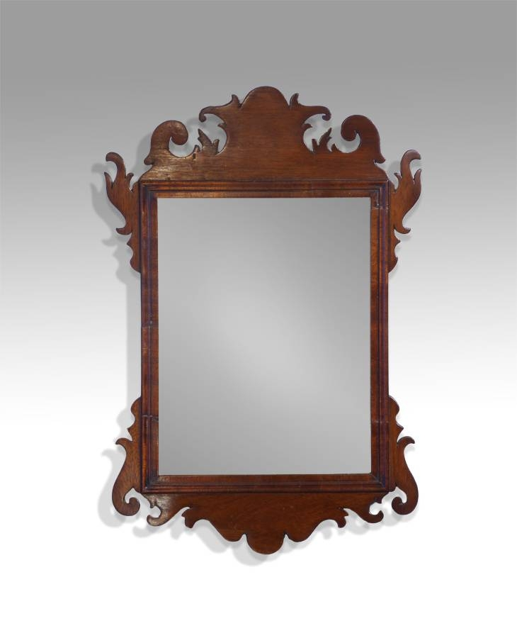 Small Antique Mirror, Wall Mirror, Fret Mirror, Carved Mirror For Small Antique Mirrors (View 2 of 20)