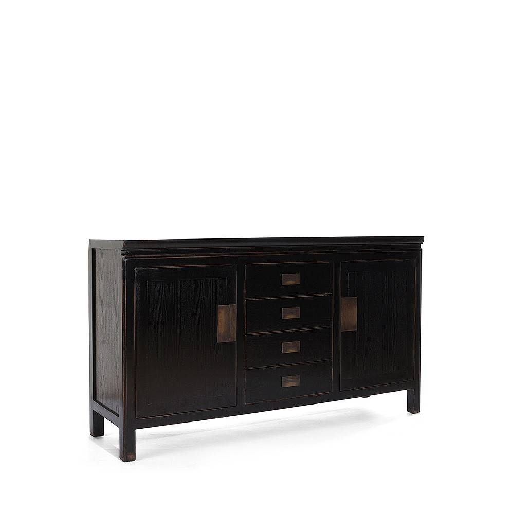 Small Canton Black Sideboard Intended For Black Sideboard (View 2 of 20)