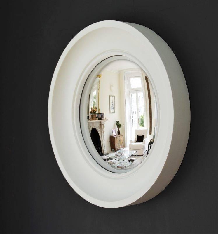 Popular Photo of White Convex Mirrors