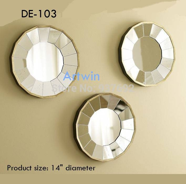 Popular Photo of Decorative Small Mirrors