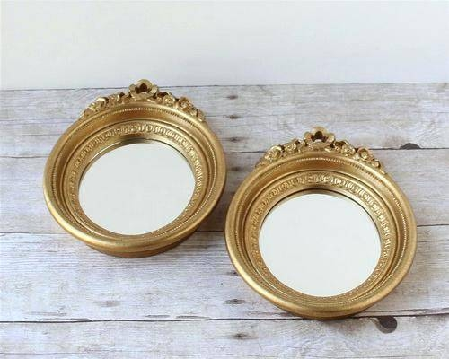 Small Framed Mirror – Shopwiz Regarding Small Gold Mirrors (View 4 of 20)