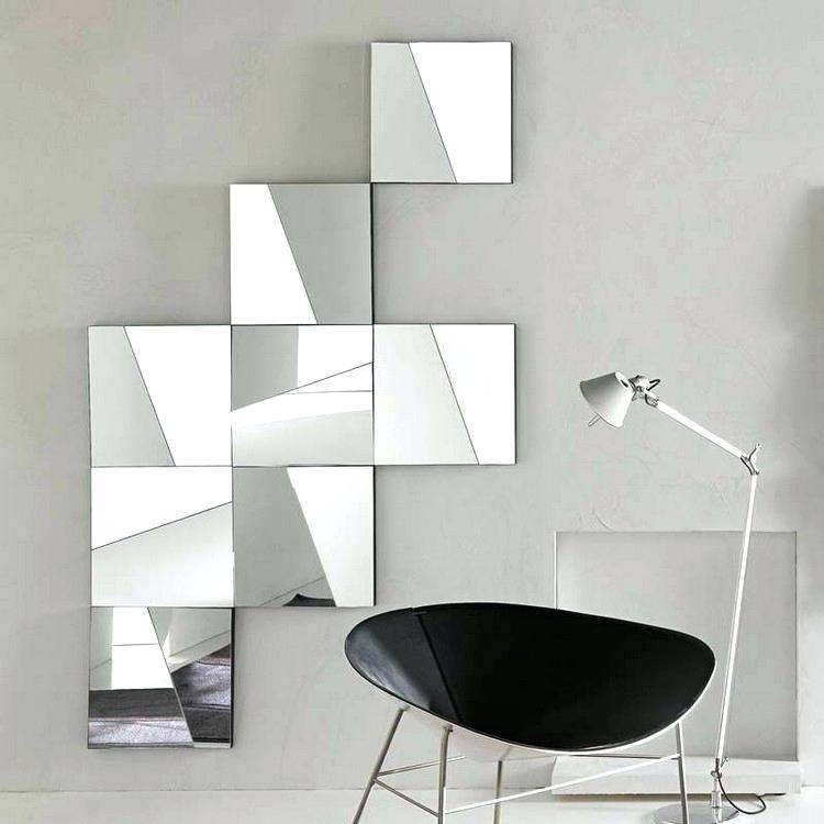 Small Funky Wall Mirrors Modern – Shopwiz Throughout Funky Mirrors (#27 of 30)