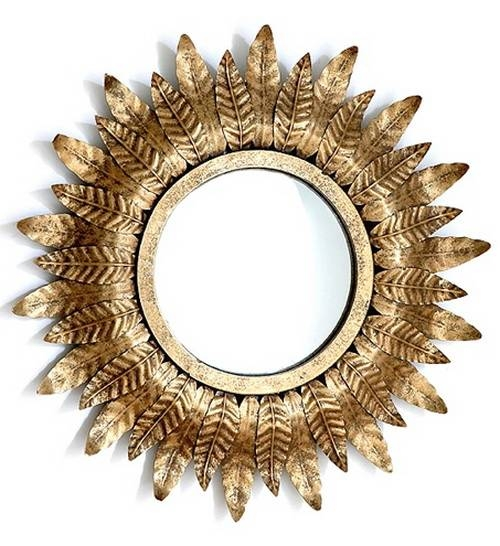 Small Gold Mirrors | Inovodecor Inside Small Gold Mirrors (View 5 of 20)