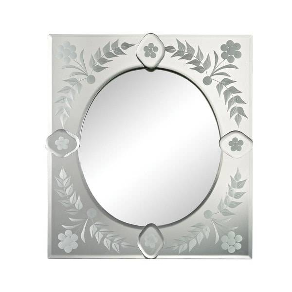 Small Square Venetian Mirror – Free Shipping Today – Overstock Within Square Venetian Mirrors (#11 of 20)