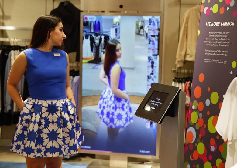 Smart' Mirrors In Fitting Rooms Give Shoppers A Different Look Inside Shopping Mirrors (#28 of 30)