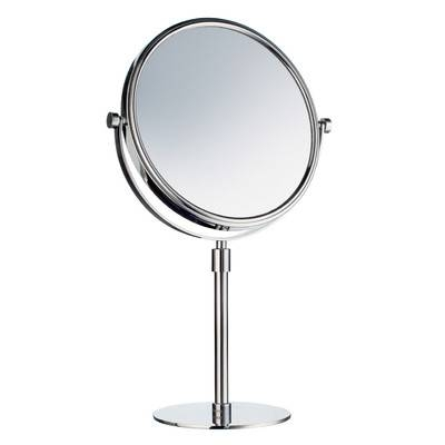 Smedbo Outline Freestanding Shaving / Makeup Mirror & Reviews In Free Standing Table Mirrors (#30 of 30)