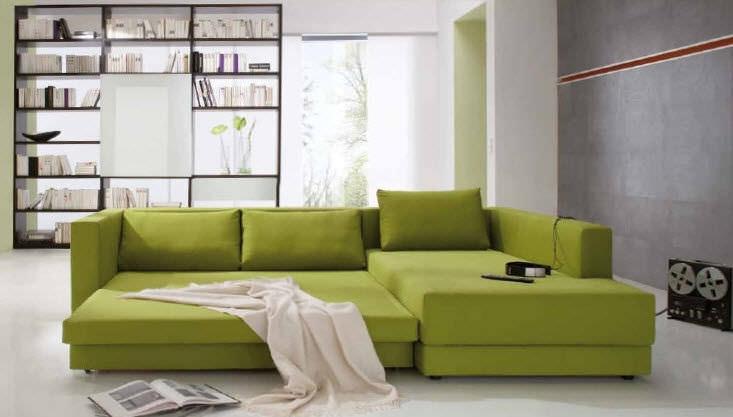 Sofa Bed Corner Contemporary Fabric Confetto Franz Inside Sofa Lounger Beds (#12 of 15)