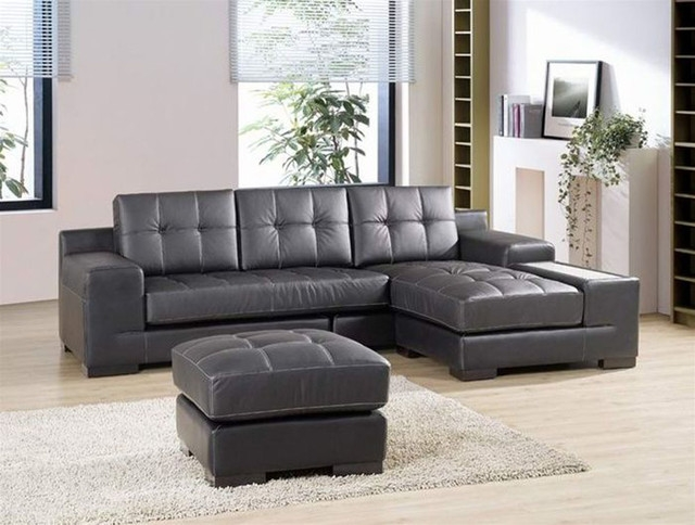 Sofa Beds Design Marvellous Ancient Gray Leather Sectional Sofas Pertaining To Gray Leather Sectional Sofas (#14 of 15)