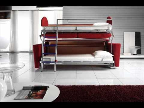 Sofa Bunk Bed Sofa Bunk Bed Convertible Youtube With Regard To Sofa Bunk Beds (#10 of 15)