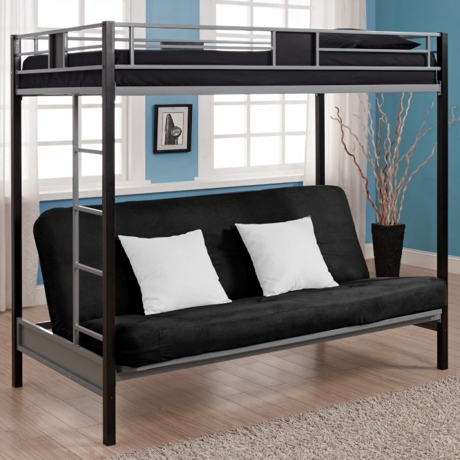 Sofa Bunk Bed The Best Solutions For Small Spaces Glamorous Regarding Sofa Bunk Beds (#11 of 15)