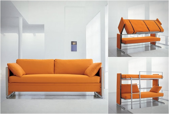 Popular Photo of Sofa Bunk Beds