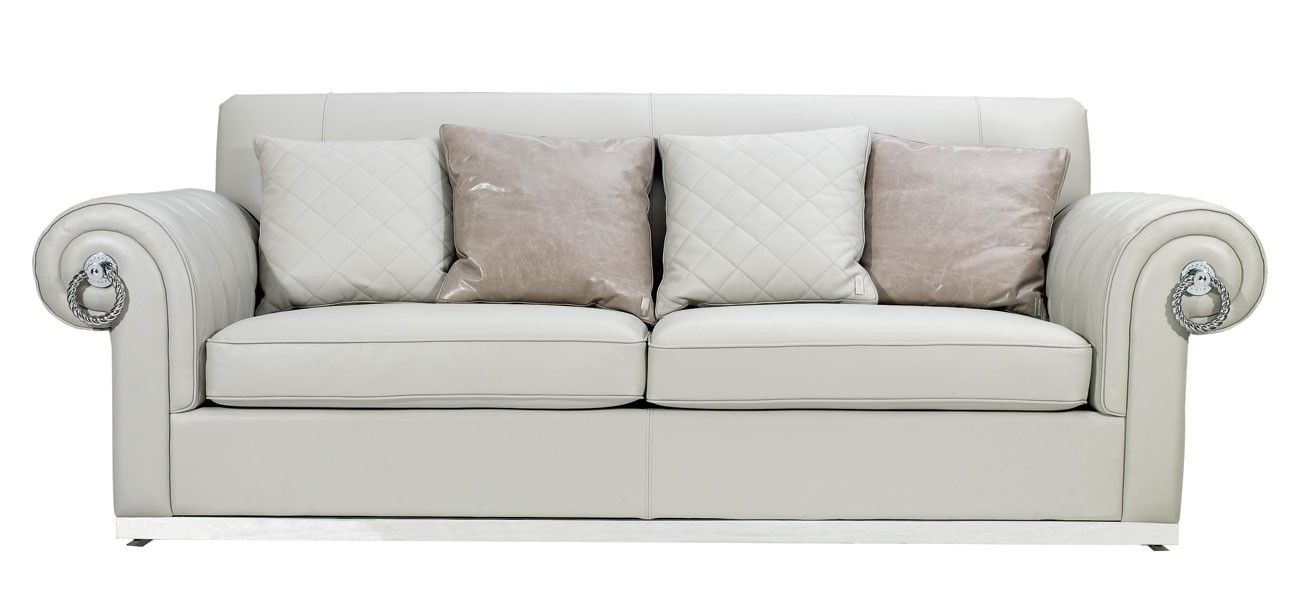Sofa Inspiring Off White Leather Sofa 2017 Design White Leather For Off White Leather Sofa And Loveseat (#11 of 15)