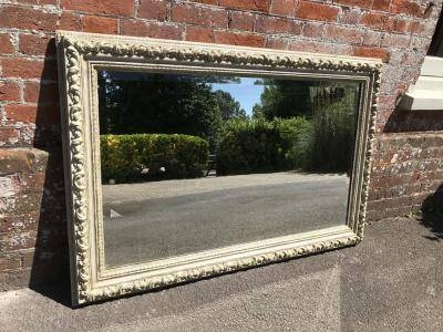 Sold Antique Antique French Mirrors – Ornate & Crested Mirrors With Regard To Large Gilt Framed Mirrors (#30 of 30)