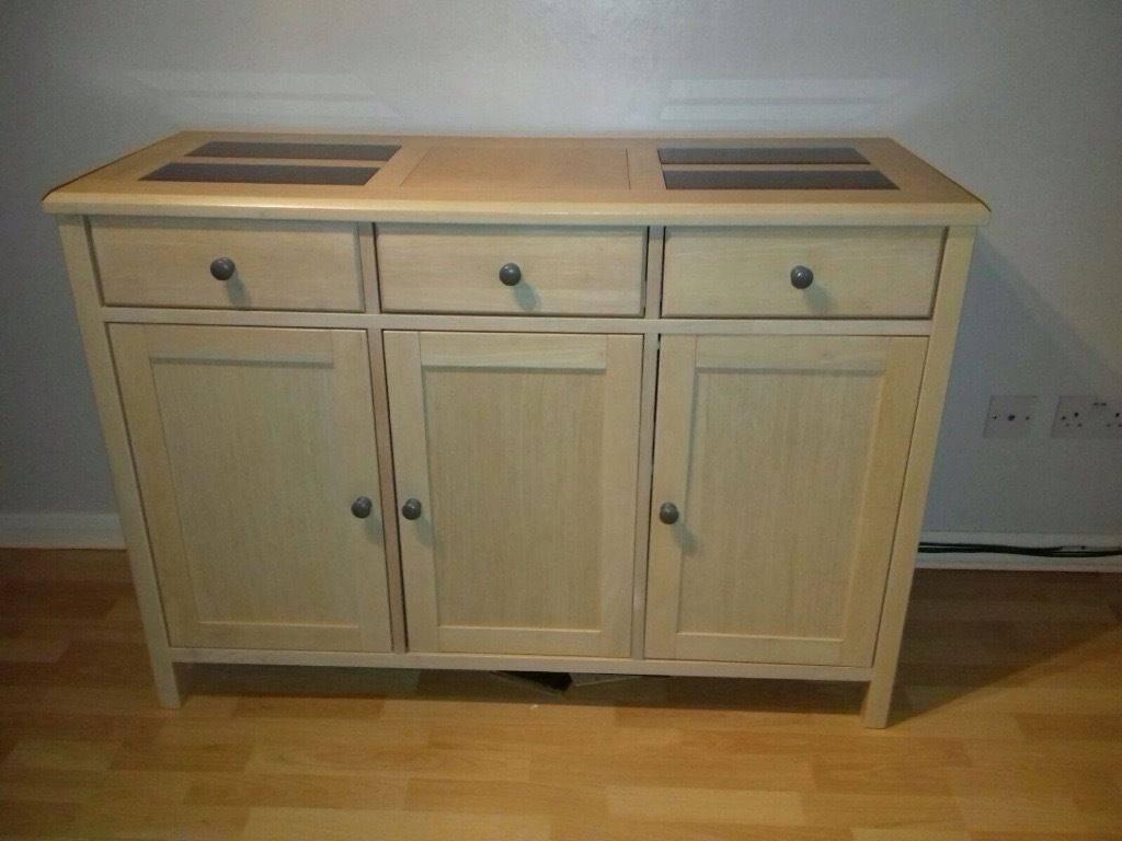 Solid Light Oak Sideboard For Sale | In Kenilworth, Warwickshire Within Oak Sideboard For Sale (View 18 of 20)