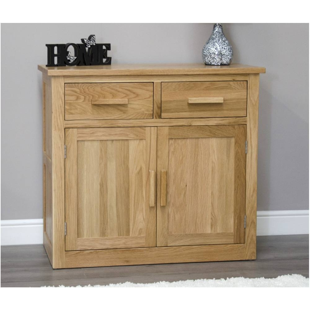 Solid Oak Furniture, Oak Sideboard, Home Furniture | Arden Collection Regarding Small Wooden Sideboard (#20 of 20)