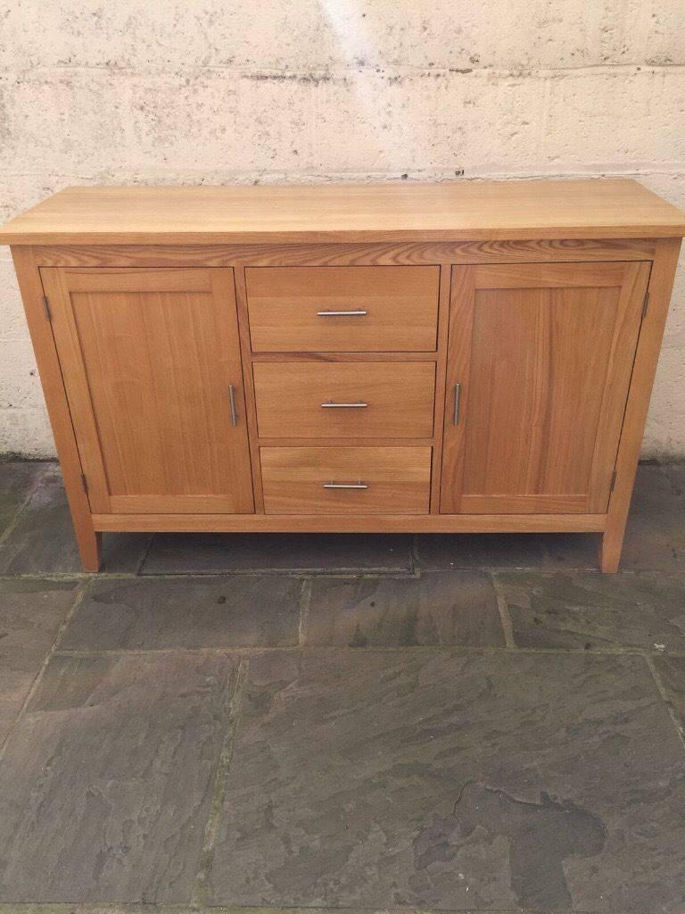 Solid Oak Sideboard For Sale | In Maidstone, Kent | Gumtree Throughout Oak Sideboard For Sale (#16 of 20)