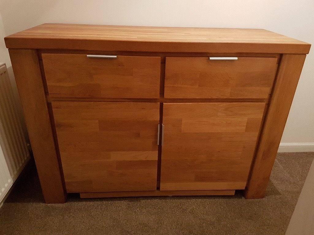 Solid Oak Sideboard For Sale | In Renfrew, Renfrewshire | Gumtree Throughout Oak Sideboard For Sale (View 9 of 20)