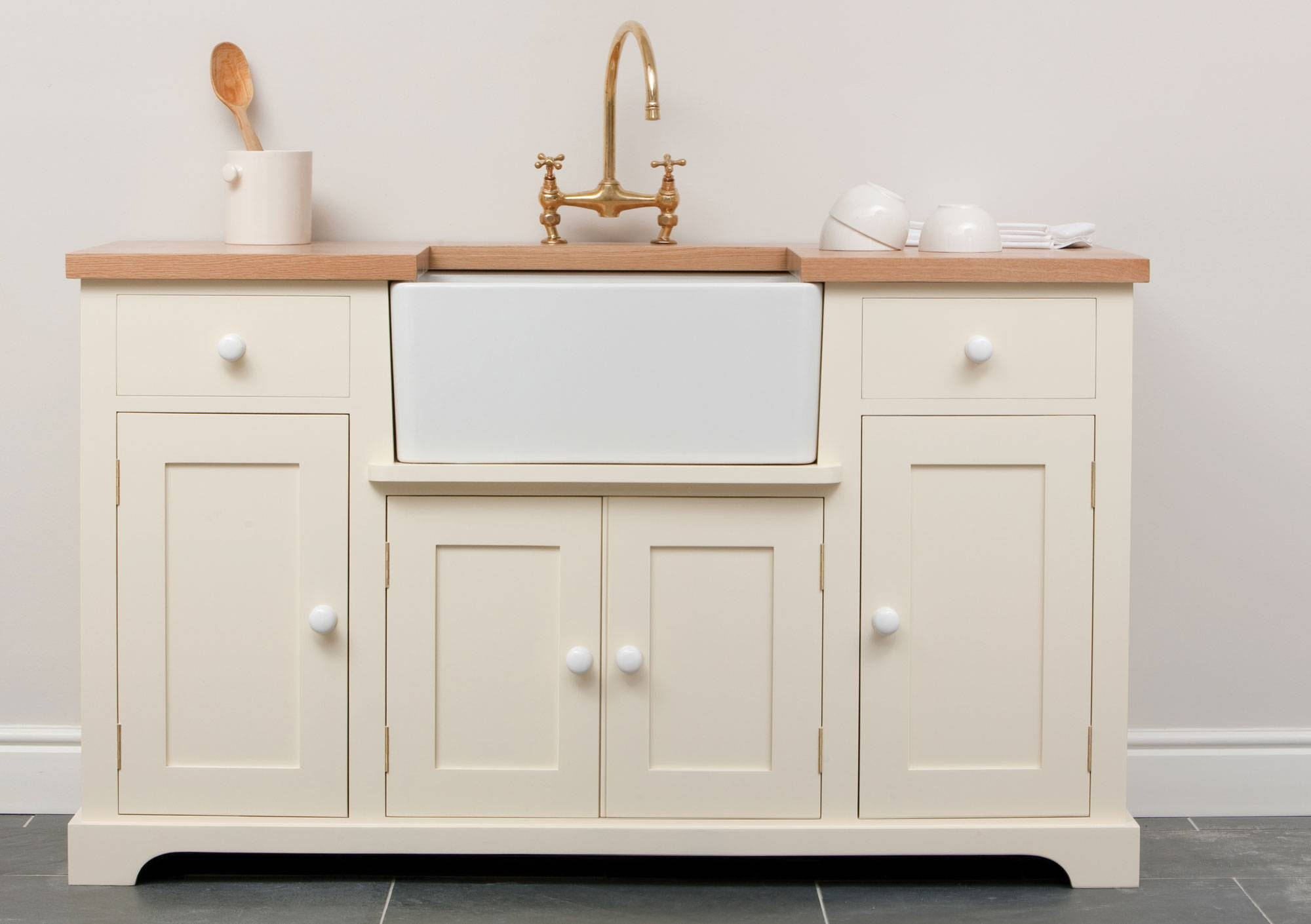 Solid Oak Sideboard Is Your First Choice Living Room Furniture – Hgnv In Free Standing Kitchen Sideboard (View 10 of 20)